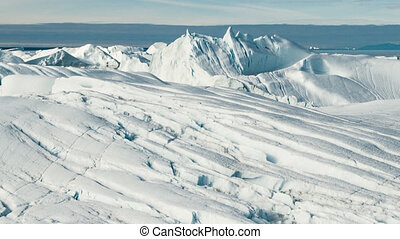 Global Warming and Climate Change - Icebergs from melting...