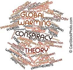 Global warming conspiracy theory