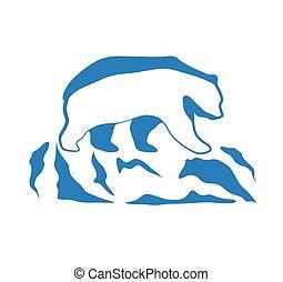 Global Warming Ecological logo