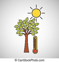 global warming environment concept design