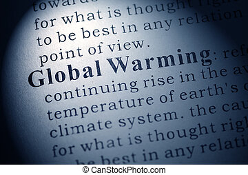 Global Warming - Fake Dictionary, Dictionary definition of...