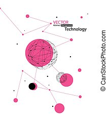 globala kommunikationer, concept., vektor