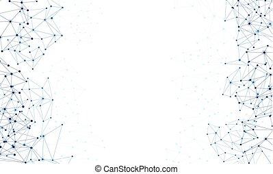globala kommunikationer, vit, bakgrund.
