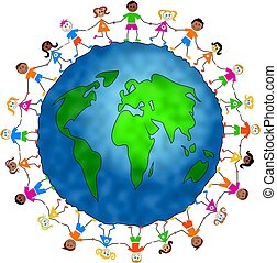 globale, børn