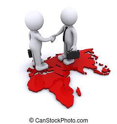 globale, begreb, kompagniskab