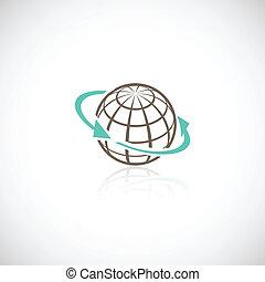 globale, begreb, netværk