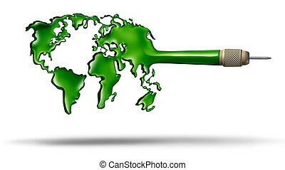 globale, bersaglio