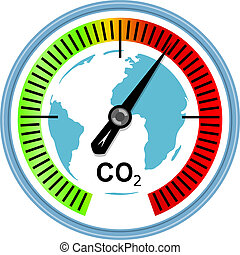 globale, clima, concetto, warming, cambiamento