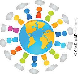 globale, dialog