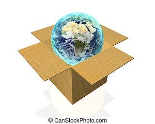 globale, forsendelse