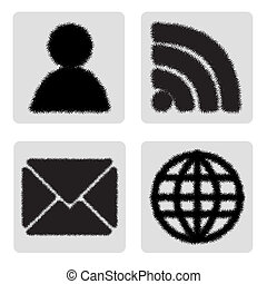 globale, icone