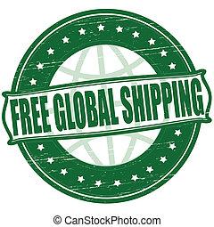 globale, libero, spedizione marittima
