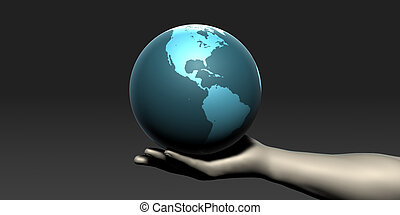 globale, medico, comunicazioni