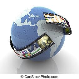 globale, produzione, multimedia
