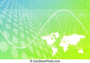 globale zaak, abstract, achtergrond