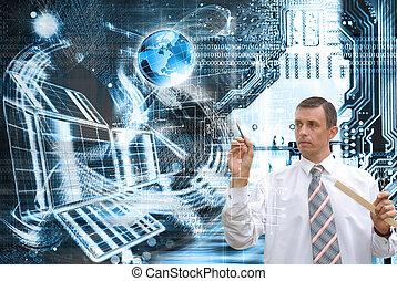 globalisatie, computers
