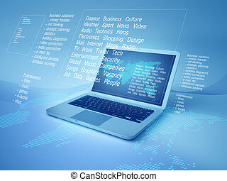 globalisatie, technologie, informatietechnologie