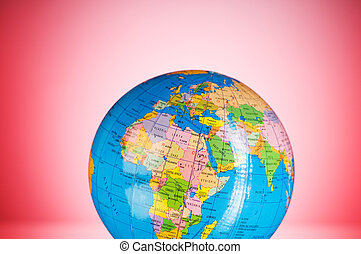 globalisation , γενική ιδέα , - , σφαίρα , εναντίον , κλίση , γραφικός , φόντο