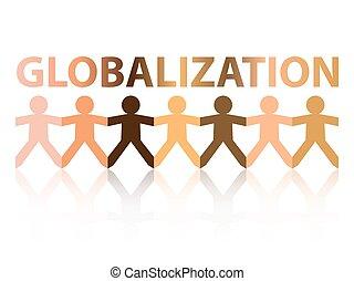 globalisation, gens papier
