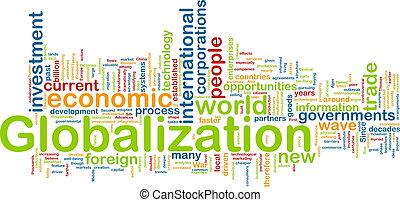 globalisation, wordcloud
