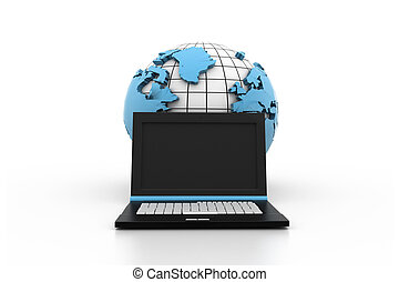 globalização, conceito, internet