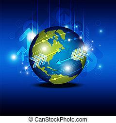 globalização, tecnologia