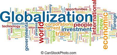globalização, wordcloud