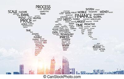 globalization, concept., ビジネス
