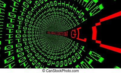 globalization, data, tunnel