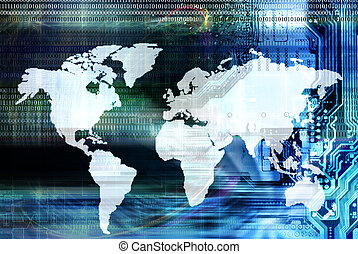 Globalization - Programming computer technology.Globaliz...