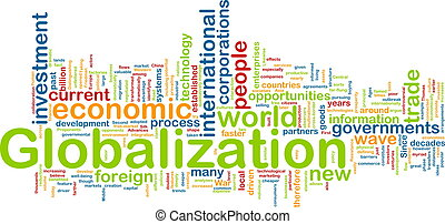 globalization, wordcloud