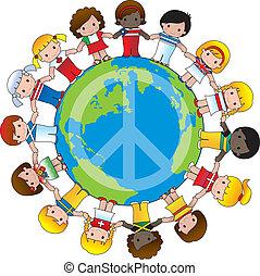 globalny, dzieci