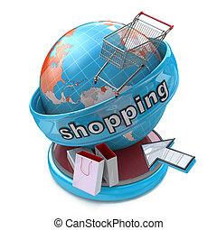 globalny, shopping online