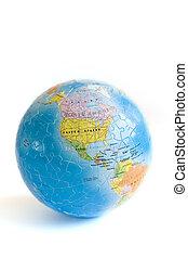 Globe 3D Puzzle