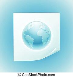 globe, achtergrond