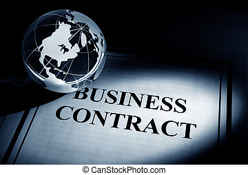 Globe and Business Contract