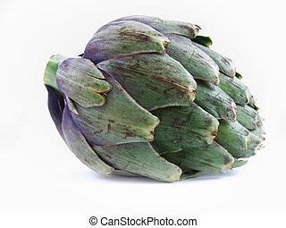 Globe artichoke - One fresh globe artichoke.