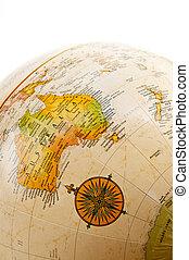 globe, australie, -