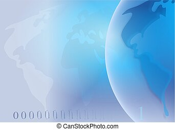 Globe Background - globe background design