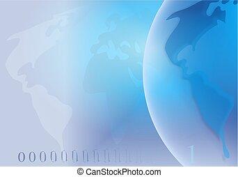 Globe Background - globe background design