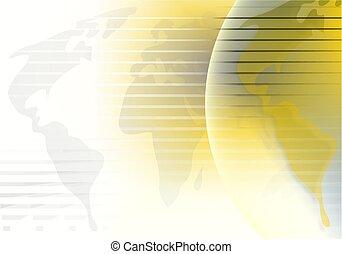 Globe Background - world map background design