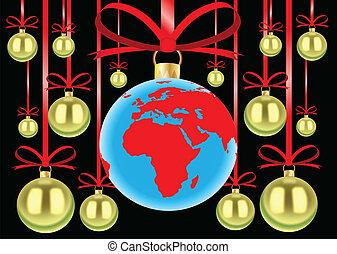 GLOBE CHRISTMAS