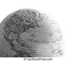Globe close up