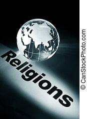globe, concept of religions