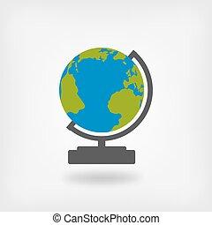 globe, concevoir élément