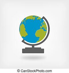 globe design element. vector illustration - eps 10
