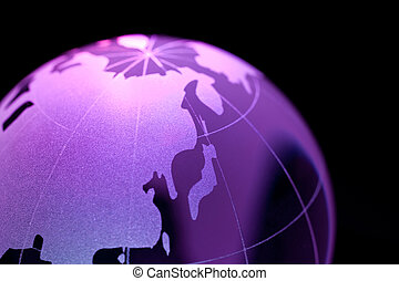 Globe - Earth planet, globe for background