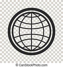 Globe earth vector icons