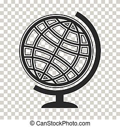 Globe earth vector icons