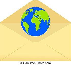globe envelope